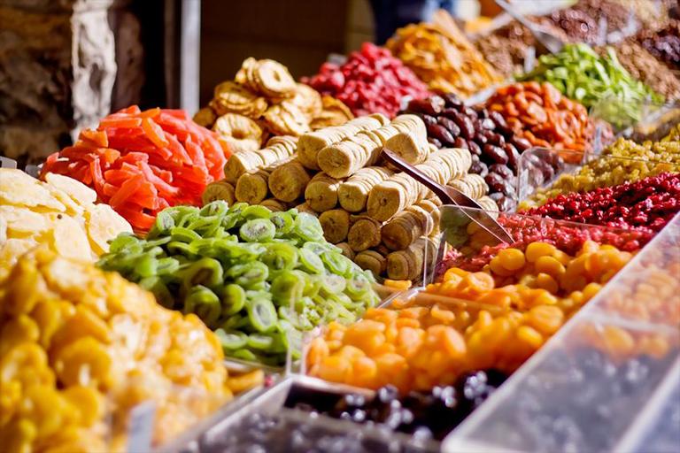Suho, dehidrirano, kandirano voće i povrće
